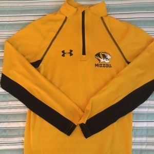 Boys Under Armour MIZZOU 1/4 zip pullover
